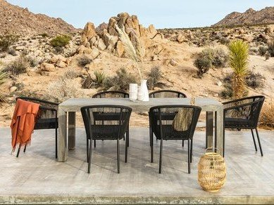 Lara Outdoor Dining Package - 6 Seater