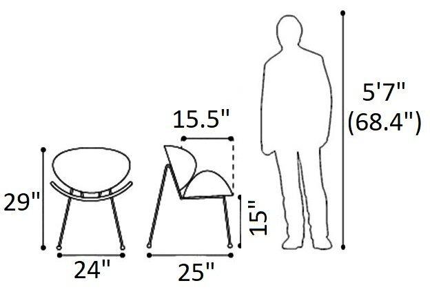 Match Chair Black (Set of 2)