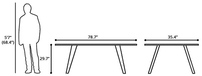 House Dining Table White