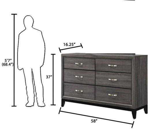 Watson Dresser Rustic Gray Oak