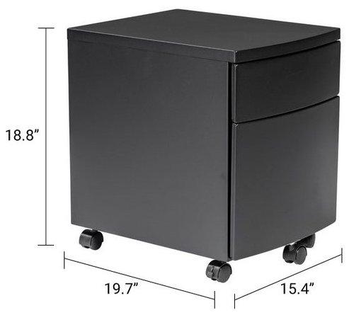 Ingo Filing Cabinet Black