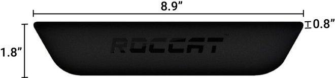 Roccat Rest Max Gel Wrist Pad Black