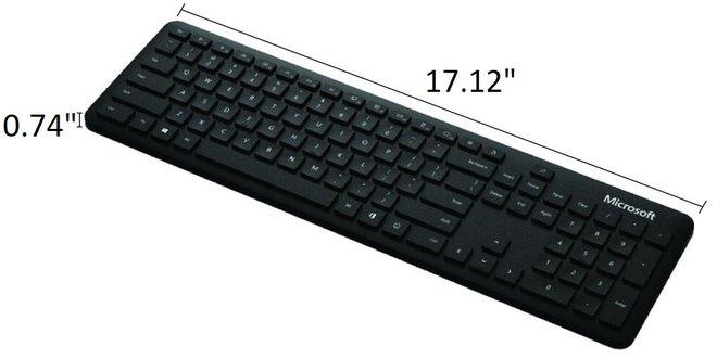 Microsoft Wireless Bluetooth Keyboard Black