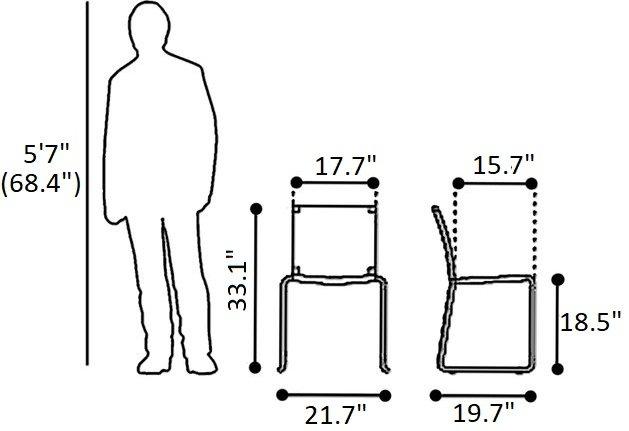 Beckett Dining Chair Tan (Set of 4)
