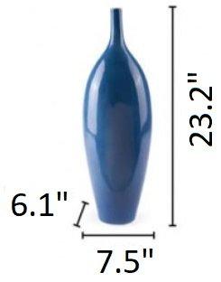 Cobalt Large Vase Blue