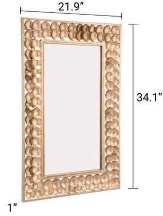 Mini Circles Gold Mirror