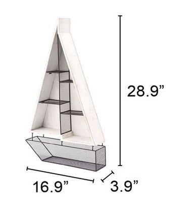 Boat Shelf White