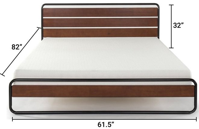 Therese Platform Queen Bed Brown And Black