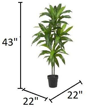 Silk Floor Plant Green