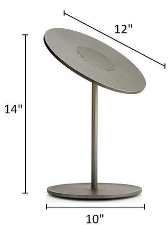 Circa Table Lamp Graphite