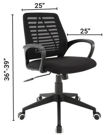 Ardor Office Chair Black