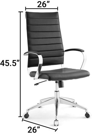 Jive Highback Office Chair Black