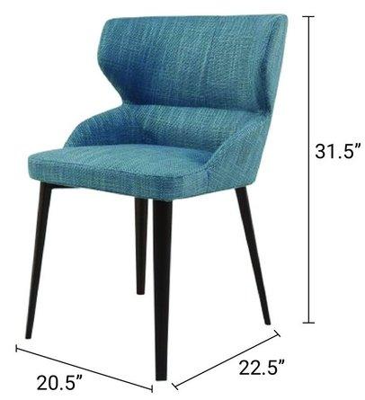 Skylar Dining Chair Blue