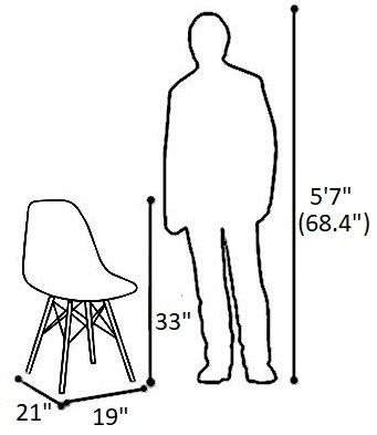 Buran Dining Chair Walnut Base White