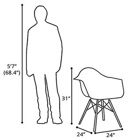 Bora Arm Chair Chrome Base Gray