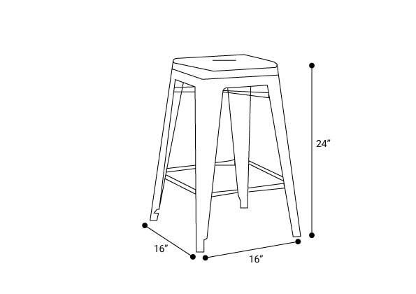 Remarkable Holsak 24 Counter Height Stool Dark Green Set Of 2 In La Machost Co Dining Chair Design Ideas Machostcouk