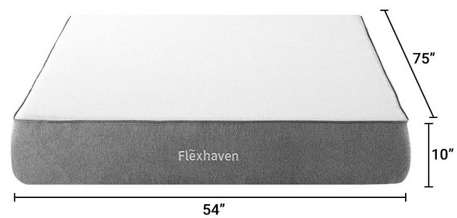 "Flexhaven 10"" Memory Full Mattress"