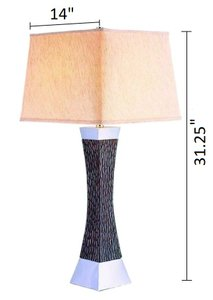 Rent Pandora Table Lamp Multicolor In Los Angeles San Diego Casaone