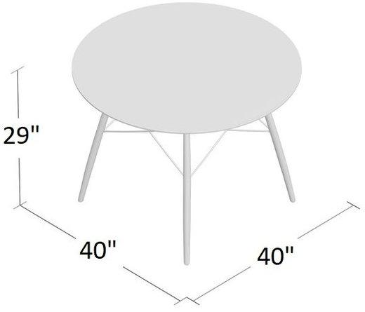 Arine Dining Table White