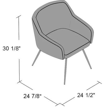 Hemingway Chair Gray