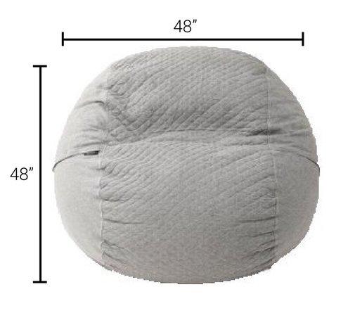 Tuft & Needle Bean Bag Stone