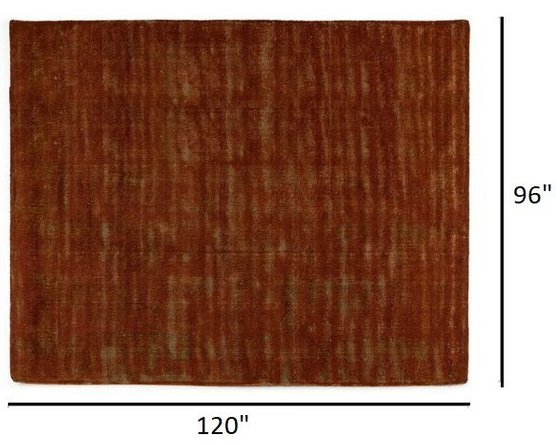Article Adria Rug 8 X 10 Rust Red