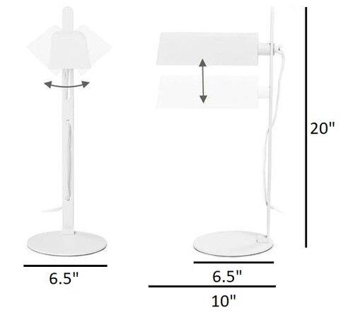 Article Techni Table Lamp White