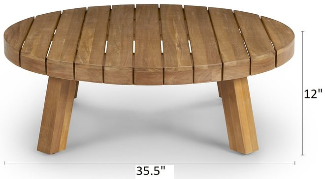 Article Koel Coffee Table Natural