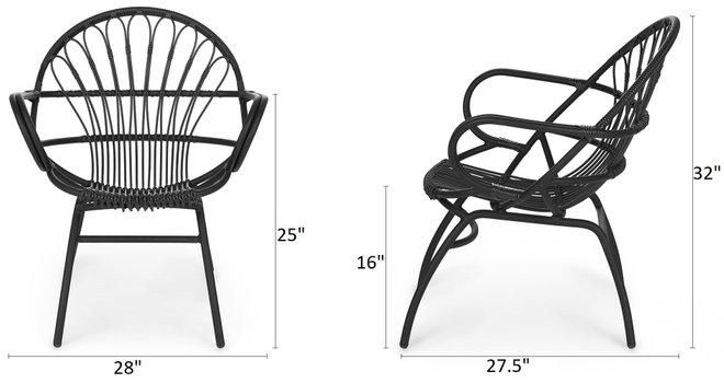 Article Loa Chair Graphite