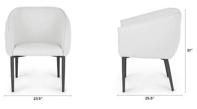 Article Venn Dining Chair Whisper Gray