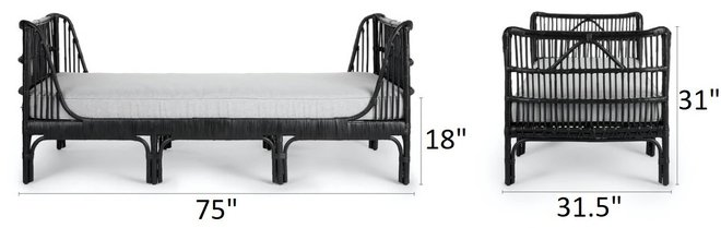Article Sol Daybed Belgian Gray