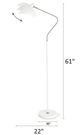 Article Leap Floor Lamp White