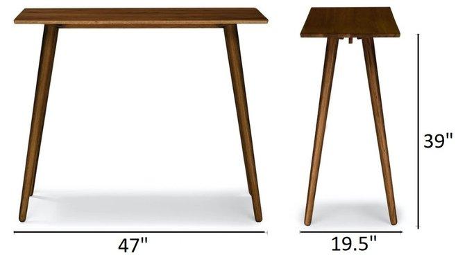 Article Seno Modern Bar Table Walnut