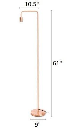 Article Beacon Floor Lamp Copper