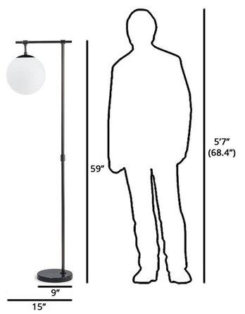 Article Pendula Floor Lamp Gunmetal