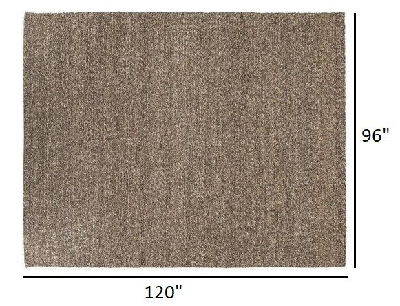 Article Tricot Rug 8 X 10 Brindle Gray