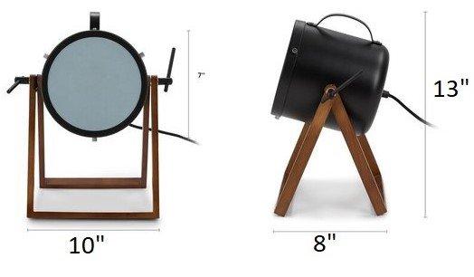 Article Spot Table Lamp Black