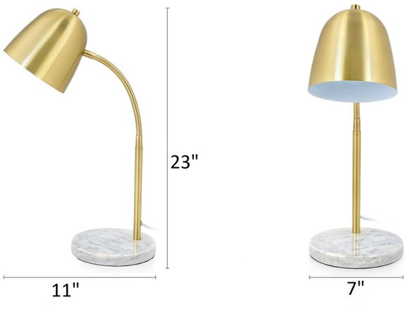 Article Cado Table Lamp Gold