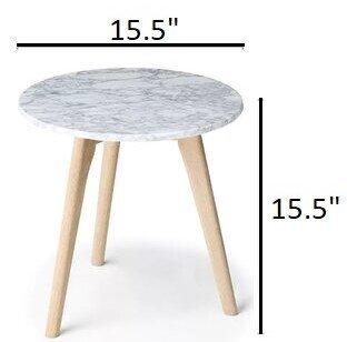 Article Mara Side Table Oiled Oak