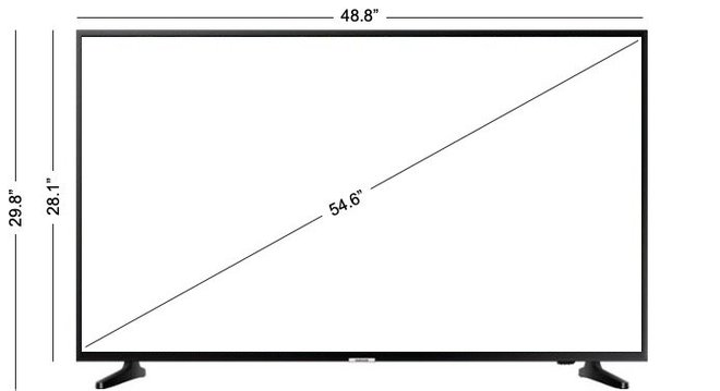 "Samsung 55"" LED NU6900 Series Smart 4K UHD TV with HDR"