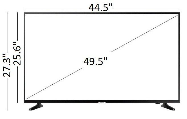 "Samsung 50"" LED NU6900 Series Smart 4K UHD TV with HDR"