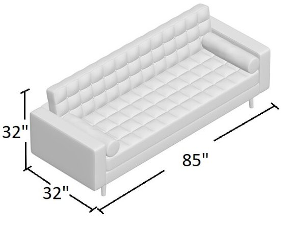 Collins Sofa Charcoal