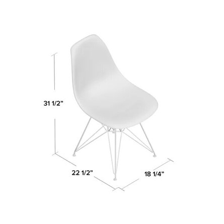 Madison Dining Chair Clear