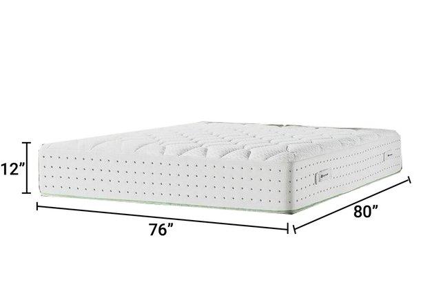 "Memory Foam Pressure Relief Hybrid 12"" King Mattress"
