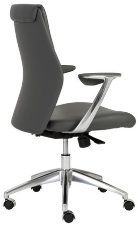 Crosby Low Back Office Chair Gray