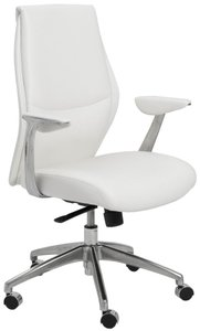Crosby Low Back Office Chair White