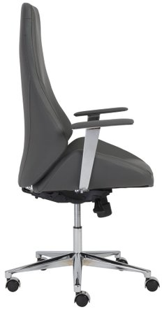 Bergen High Back Office Chair Gray