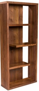 Robyn Shelving Unit American Walnut