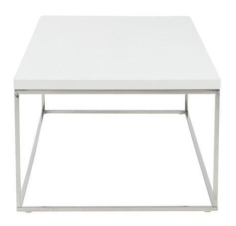 Teresa Rectangle Coffee Table White