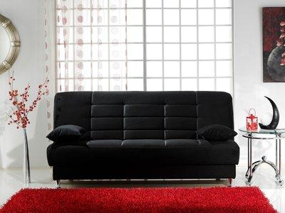 Vegas Sofa Rainbow Black